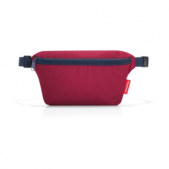 Сумка поясная Beltbag S Dark ruby