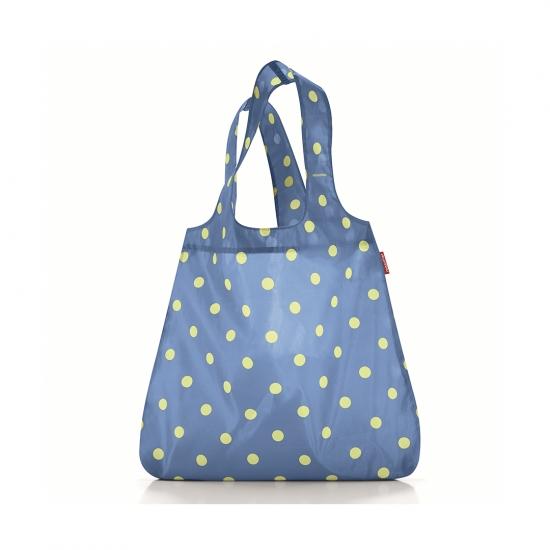 Сумка складная Mini Maxi Shopper Dots Blue