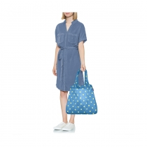 Сумка складная Mini Maxi Shopper Dots Blue