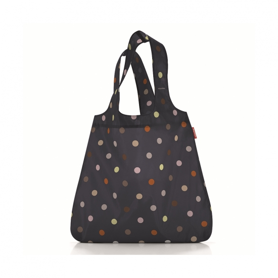 Сумка складная Mini Maxi Shopper Dots Black