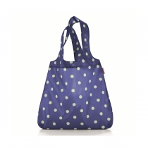 Сумка складная Mini Maxi Shopper Dots Navy