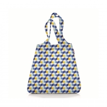 Сумка складная Mini Maxi Shopper Cubes Blue