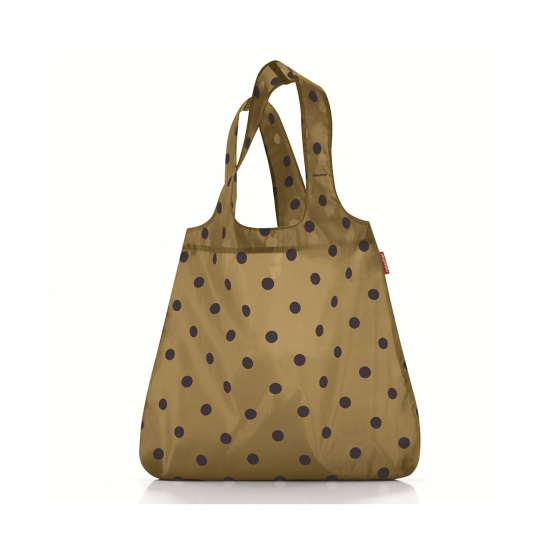 Сумка складная Mini Maxi Shopper Dots Mocha