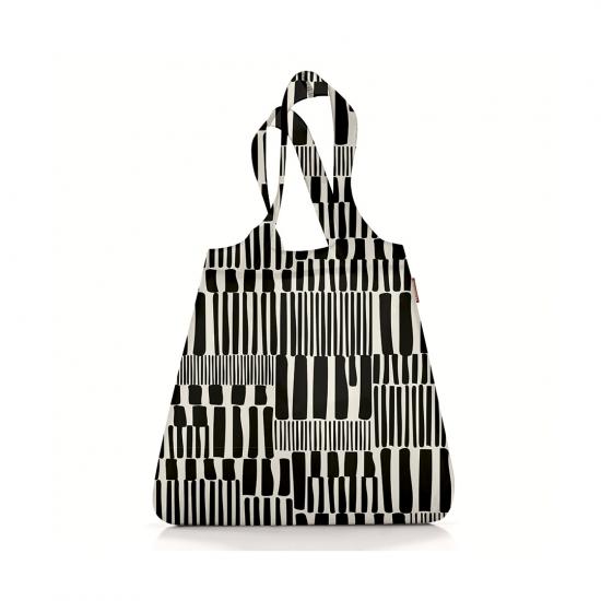 Сумка складная Mini Maxi Shopper Winter Black