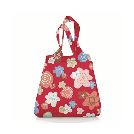 Сумка складная Mini Maxi Shopper Flowers Red