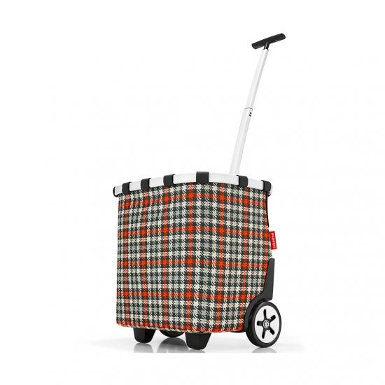 Сумка-тележка Carrycruiser Glencheck Red