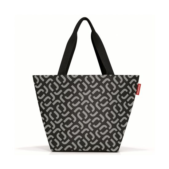 Сумка Shopper M Signature Black