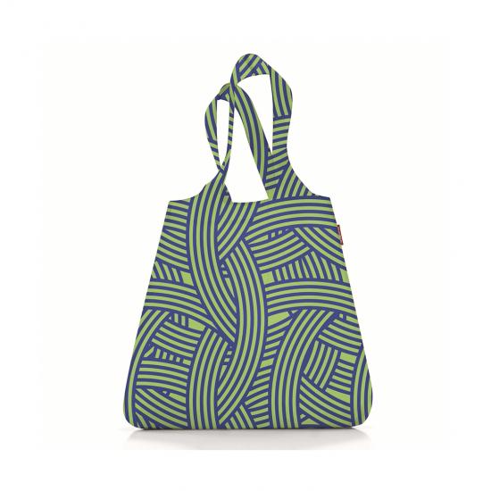 Сумка складная Mini Maxi Shopper Zebra Green
