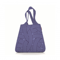 Сумка складная Mini Maxi Shopper Zebra Navy