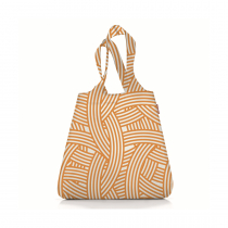 Сумка складная Mini Maxi Shopper Zebra Orange