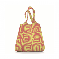 Сумка складная Mini Maxi Shopper Zebra Yellow