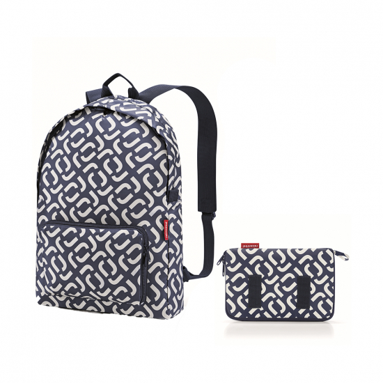 Рюкзак складной Mini Maxi Signature Navy