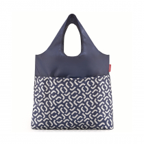 Сумка складная Mini Maxi Shopper Plus Signature Navy