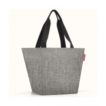 Сумка Shopper M Twist Silver