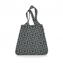 Сумка складная Mini Maxi Shopper Signature Black