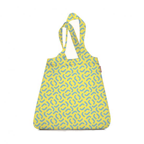 Сумка складная Mini Maxi Shopper Signature Lemon
