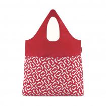 Сумка складная Mini Maxi Shopper Plus Signature Red