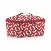 Термосумка Coolerbag M Pocket Signature Red