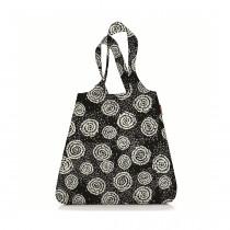 Сумка складная Mini Maxi Shopper Batik, черная