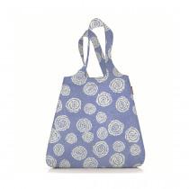 Сумка складная Mini Maxi Shopper Batik, голубая