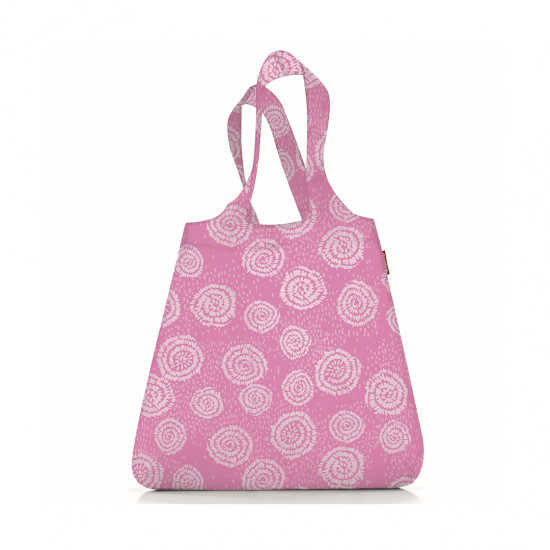 Сумка складная Mini Maxi Shopper Batik, розовая