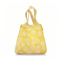 Сумка складная Mini Maxi Shopper Batik, желтая
