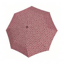 Зонт механический Pocket Classic Signature Red
