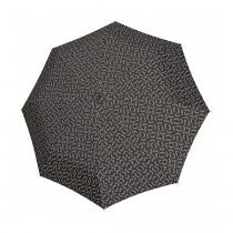 Зонт механический Pocket Classic Signature Black
