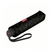 Зонт механический Pocket Classic Signature Black Hot Print