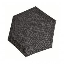 Зонт механический Pocket Mini Signature Black Hot Print