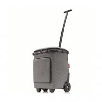 Сумка-тележка Carrycruiser Plus Twist Silver