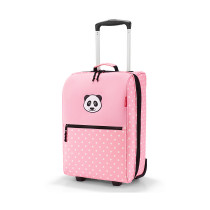 Чемодан детский Trolley XS Panda Dots Pink